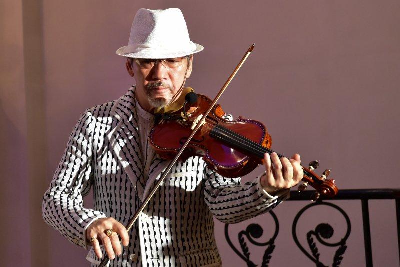 バイオリニスト アントニオ(斉藤 良一)さん