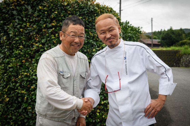 浅田 藤二さんとムッシュ