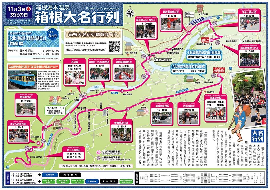 箱根大名行列(11月3日:文化の...