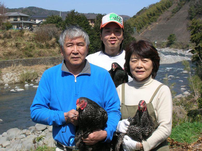 勝又登 堀江養鶏で